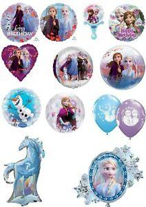 Disney Frozen Elsa Anna Olaf Balloons Party Ware Decoration Novelty Gift Helium