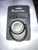 NEW Hydro Flask Black Standard Mouth Flex Cap