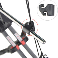 Archery Plastic Cable Slide Guard Glide String Splitter Separator Compound Bow
