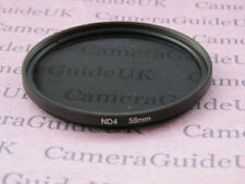 58mm ND4 Filter Neutral Density for Canon, Nikon, Sony, Pentax Camera Lens