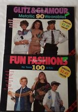 Lot 2 Craft Magazines Super Book Fun Fashions Teens Kids Glitz Glamour Metallic