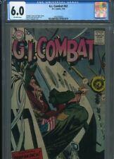 GI COMBAT #62 SOLID GRADE CGC FINGER STORIES KUBERT HEARTH ART GRANDENETTI COVER