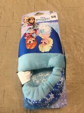 Disney Toddler Girls' Frozen Elsa Anna Slippers Sz S 5-6