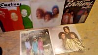 THE EMOTIONS: Lot of 5 Vinyl LPs