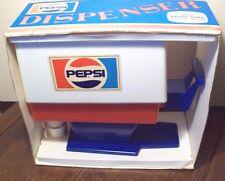 VINTAGE VERY RARE 1960-1970 ERA CHILTON-GLOBE PLASTIC PEPSI COLA DISPENSER BOXED