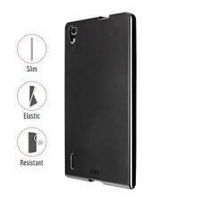 Artwizz SeeJacket TPU case Case Bumper Cover Huawei Ascend P7 Black