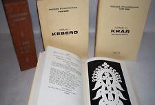 POESIA ETIOPIA Rarità - Claude Sumner : KEBERO ALEM KRAR 1976/1978 Dedica Aut.