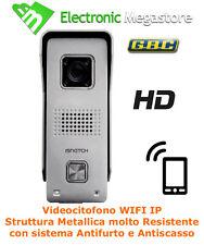 VIDEOCITOFONO IP WI-FI HD IR IP65 P2P CLOUD 1MP 720P APP ANDROID IOS SMARTPHONE