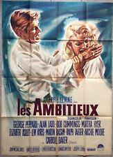 Affiche LES AMBITIEUX The Carpetbaggers GEORGE PEPPARD Alan Ladd 120x160cm *