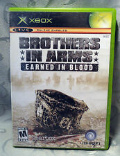 Brothers in Arms Earned in Blood Original Xbox Game Complete - NTSC