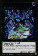 Yu-Gi-Oh! Dragon Xyz de la Rébellion des Ténèbres - MAGO-FR032 - Premium Gold Ra