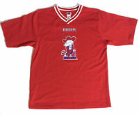 Vintage Ole Miss Rebels Colonel Reb Soccer Jersey Shirt Sz Adult M Youth XL Rare