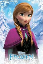"DISNEY'S FROZEN - ANNA - 91 x 61 cm 36"" x 24"" MOVIE CHARACTER POSTER"