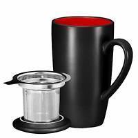 Bruntmor Ceramic Tea Infuser Mug With Stainless Steel Tea Infuser 16 oz Ounce