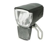 Fahrrad 50 Lux LED Scheinwerfer Spark Standlicht Fahrradlampe Nabendynamo