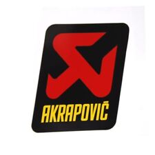 AKRAPOVIC SCARICO ADESIVI offroad calore fisso KTM EXC 125 2t, EXC 250 2t