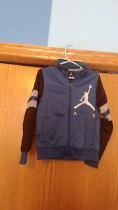 NWOT Jordan Full Zip Up Track Jacket Warm Up Jacket Sz 4/5 Yrs BIG LOGO $59 🏀🔥