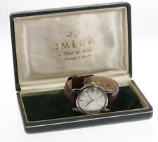 OMEGA Seamaster cal,520 Hand-winding Leather Belt Men's Wrist Watch_374538