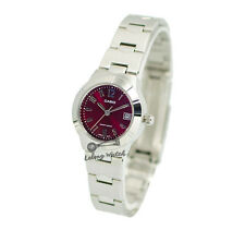 -Casio LTP1241D-4A2 Ladies' Metal Fashion Watch Brand New & 100% Authentic