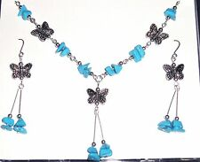 Turquoise Silver Necklace Asian Jewellery