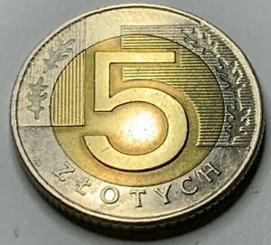 Poland 1994 5 Zlote coin !!!NO RESERVE!! !!!! !!(R3C3)