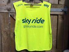 SKY RIDE/GOSKYYRIDE.COM BRITISH CYCLING HI VISIBITY REFLECTIVE SAFETY BIB UNISEX
