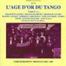 CD L'AGE D'OR DU TANGO VOL 2 / excellent état
