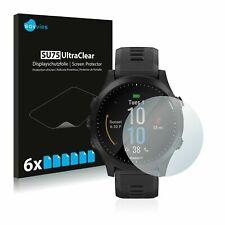 Garmin Forerunner 945 Smart Watch, 6x Transparent ULTRA Clear Screen Protector