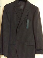 New Joseph Abboud Profile 2 Gray Pinstripe Suit Sz 42 Reg Pants 36 NWT $695