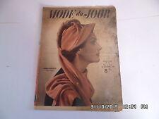 MODE DU JOUR N° 156 23/12/1948 TRICOT COUTURE FEMME ENFANT    I36