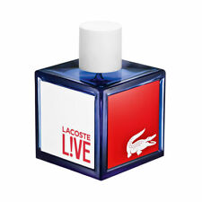 L!VE by LACOSTE LIVE for men cologne spray EDT 3.4 oz 3.3 NEW in *TESTER* box