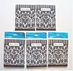 26 Tender Thoughts Invitations & Envelopes Black & White