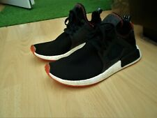 ADIDAS NMD XR1 BLACK CONTRAST STITCH PACK - UK SIZE 11 , IN A GOODISH CONDITION