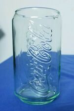 Coca-Cola Can Shaped Green Tint Coke Glass 12 oz from McDonalds