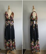 Ever pretty maxi chiffon floral garden dress size  US 14 new