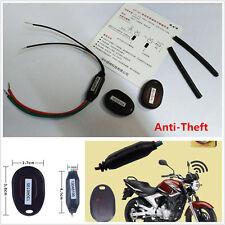 Motorcycle Stealth Anti-theft Lock Smart Electronic Sensor Alarm Security System