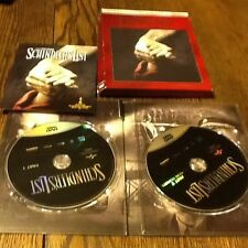 Schindlers List (DVD, 2013, 2-Disc Set, 20th Anniversary Digital Copy Used