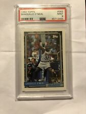 1992 TOPPS SHAQUILLE O'NEAL ROOKIE #362 PSA 9 QTY