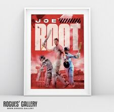 New listing England Test Captain Joe Root - A3 Concept Poster Print