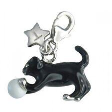 TINGLE LONDON KITTEN & BALL CHARM, New, Bracelet Charms, SCH174, Jewellery,Boxed