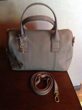 """FOSSIL LARGE  """"JORI""""  LEATHER SATCHEL GRAB CROSS BODY BAG NEW WITH TAGS"""