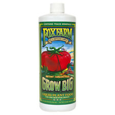 FoxFarm Grow Big Soil 1 Quart qt 32oz - nutrient fertilizer foxfarm Free Ship