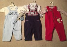 New ADORABLE Disney Pants Suspenders Size 18-24 Months, Plus 2 Others