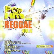 FREE US SHIP. on ANY 3+ CDs! NEW CD Various Artists: Pop Hits Inna Reggae, Vol.