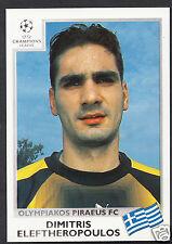 PANINI CALCIO VIGNETTA-UEFA CHAMPIONS LEAGUE 1999-00 - n. 172-OLYMPIAKOS