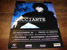 RICHARD COCCIANTE - PUBLICITE CONCERT NOVEMBRE 94 !!!!!