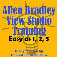 Allen Bradley Factorytalk View Studio Machine Edition Training / Tutorial