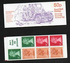 GB 1979 50p folded booklet SGFB10B including pane X849LA booklet mint stamps