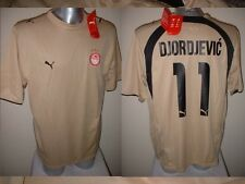 Olympiakos Djordjevic Grecia Xl Adulto Camisa Jersey Fútbol Puma BNWT Top