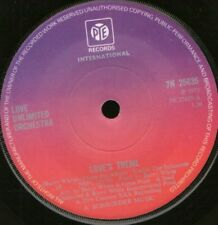 """LOVE UNLIMITED ORCHESTRA love's theme 7"""" WS EX/ pink label"""